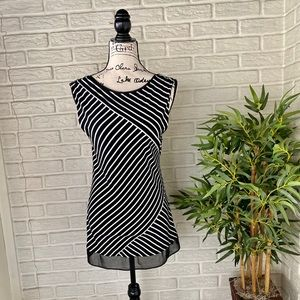 WHBM Striped Tunic